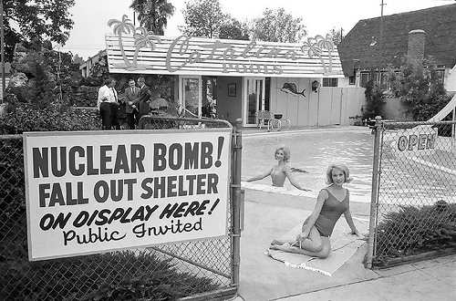 Image result for 1950s atomic bomb