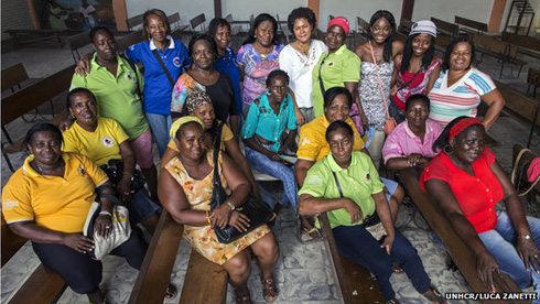 Colombian women's group wins UN refugee prize